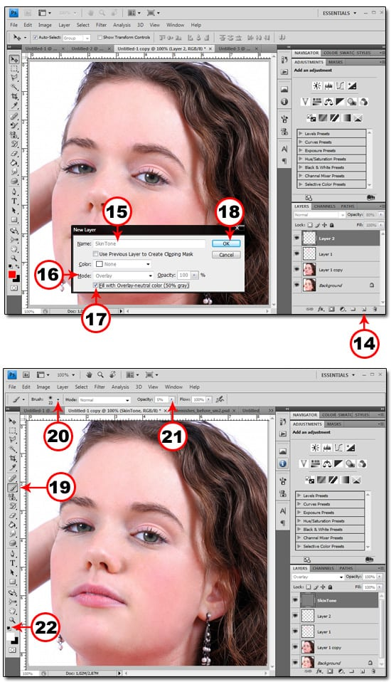 blemishes3 REMOVE BLEMISHES IN PHOTOSHOP