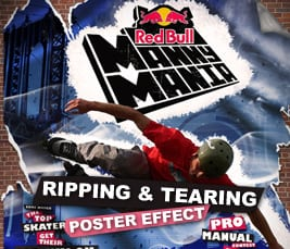 Ripping & Tearing Poster Effect