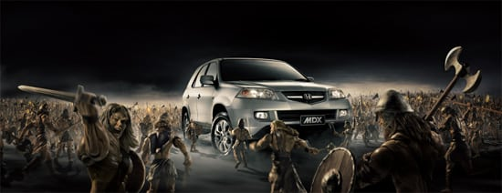 honda 30 Unique and Creative Advertising Campaigns