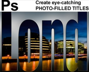 Create Eye Catching Photo Filled Titles