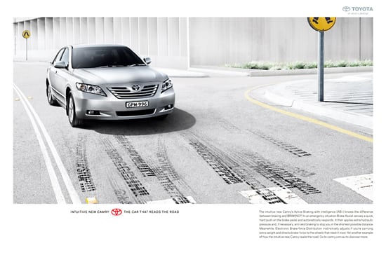 toyota01 30 Unique and Creative Advertising Campaigns