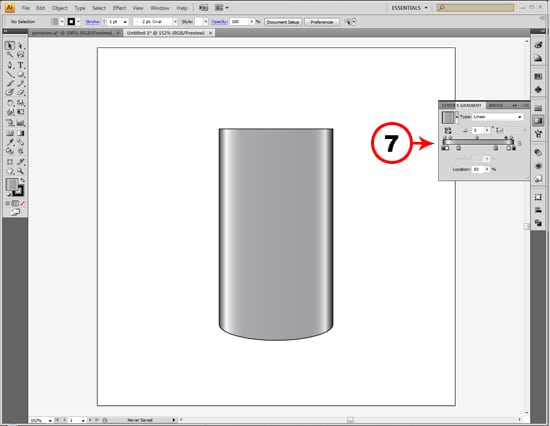 how to set pen pressure in illustrator