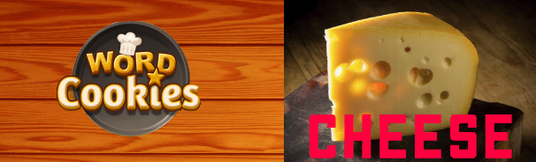 Word Cookies Cheese Answers