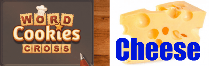 Word Cookies Cross CHEESE Answers