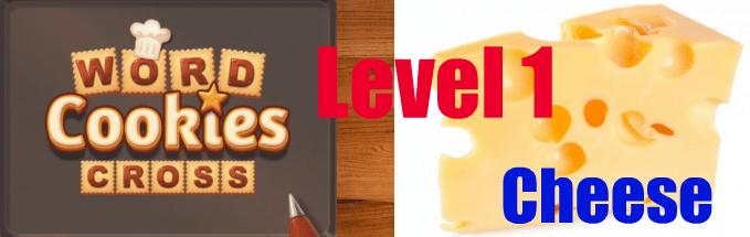 Word Cookies Cross Cheese Level 1