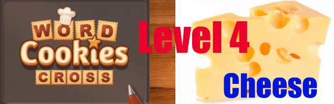 Word Cookies Cross Cheese Level 4