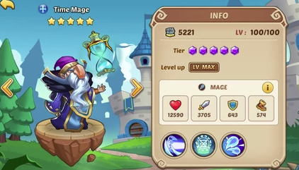 Time Mage – In Depth Information Idle Heroes