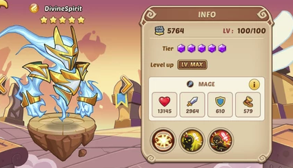Divine Spirit – In Depth Information Idle Heroes